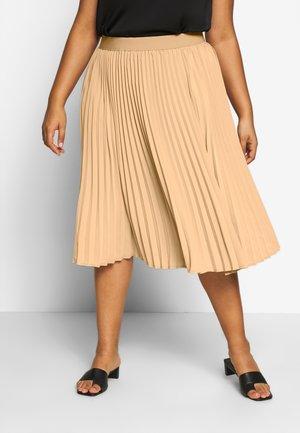 JRSAGA BELOW KNEE SKIRT - A-line skirt - cuban sand