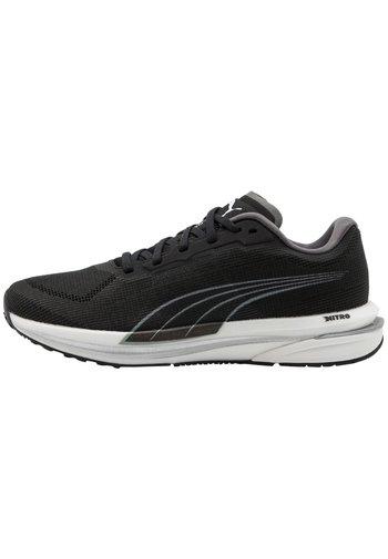 VELOCITY NITRO - Neutral running shoes - black/silver