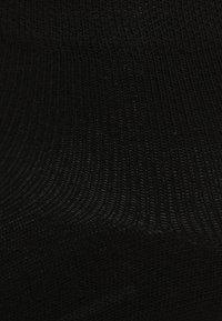 camano - QUARTER 7 PACK - Socks - black - 1