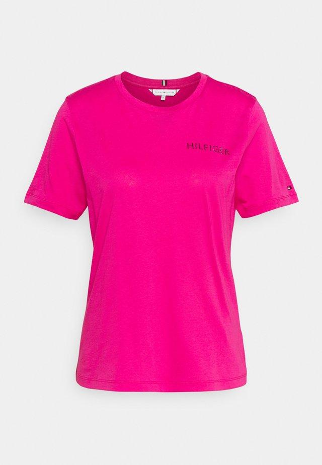 REGULAR TEE - T-shirt basique - pink