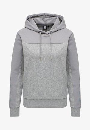BALLINA - Hoodie - grey melange