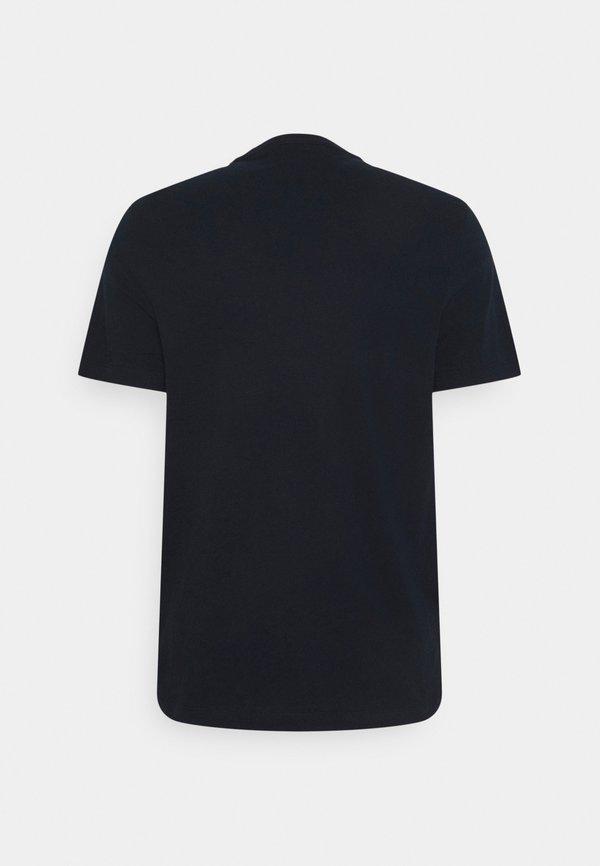 Michael Kors PALM AVIATOR TEE - T-shirt z nadrukiem - midnight/granatowy Odzież Męska RSUD