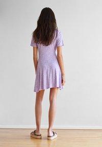 PULL&BEAR - Vapaa-ajan mekko - purple - 2