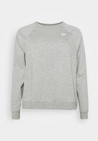 CREW PLUS - Mikina - dark grey heather/matte silver