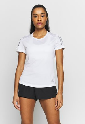 THE RUN TEE - Triko s potiskem - white