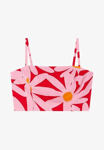 MIT BLUMENPRINT - Blouse - mottled pink