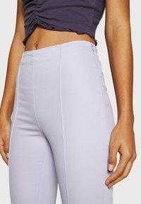 Monki - Trousers - lilac purple dusty light - 3
