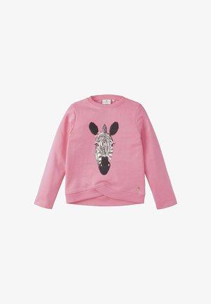 MIT PRINT - Sweatshirt - sachet pink rose
