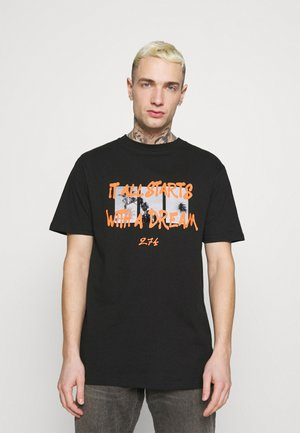 DREAM TEE - Print T-shirt - black
