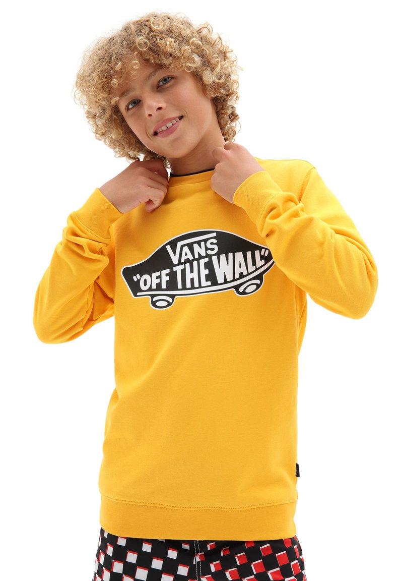 Vans - BY OTW CREW BOYS - Sweatshirt - saffron