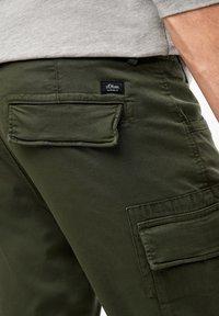 s.Oliver - Cargo trousers - khaki - 4