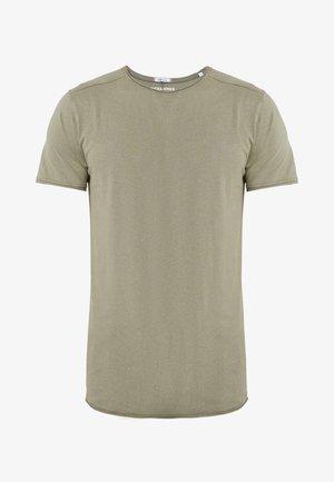 JORPEAKS TEE CREW NECK - T-shirt - bas - dusty olive