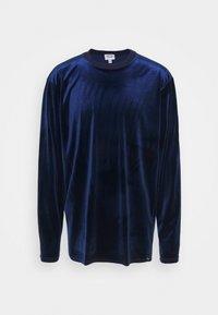 Vintage Supply - LOGO LONGSLEEVE - Collegepaita - blue - 4