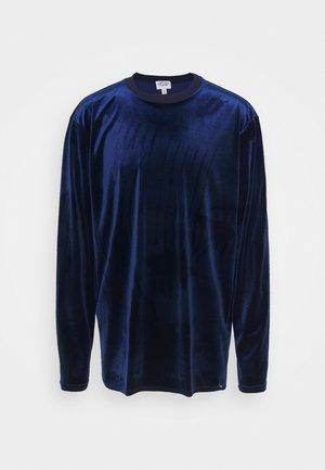 LOGO LONGSLEEVE - Sweatshirt - blue
