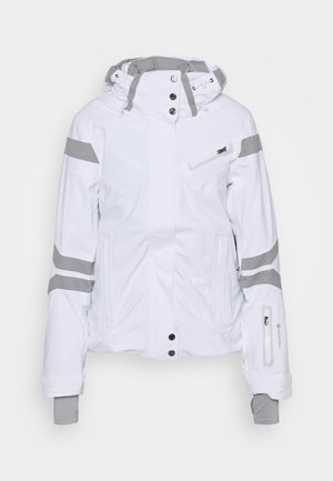 POISE - Snowboardová bunda - white all
