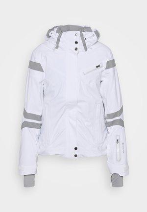 POISE - Kurtka snowboardowa - white all