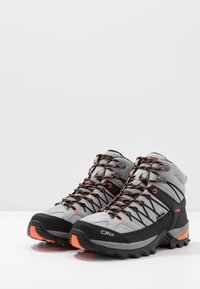CMP - RIGEL MID TREKKING SHOES WP - Hiking shoes - cemento/nero - 2