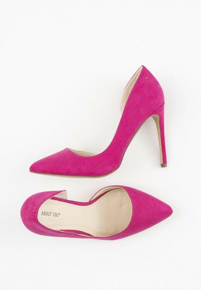 Hoge hakken - pink