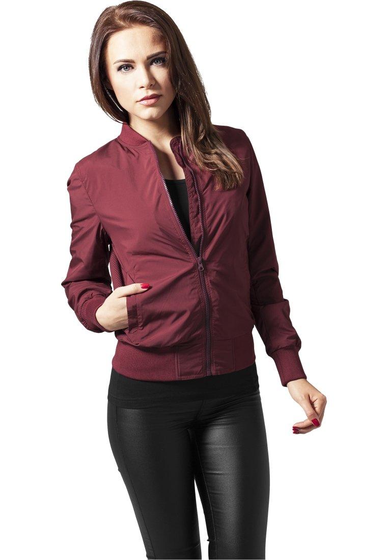 Urban Classics - Bomber Jacket - burgundy