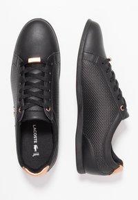 Lacoste - REY LACE - Sneakers - black - 3