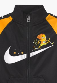 Nike Sportswear - ZIP - Overall / Jumpsuit - black/yellow - 2
