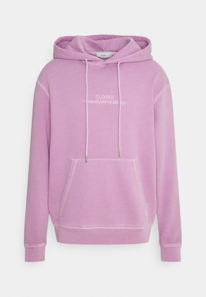HOODED - Sweater - wisteria