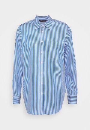 STRIPE - Button-down blouse - blue