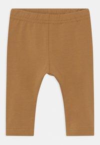 Name it - NBNLEGGING 3 PACK UNISEX - Leggings - Trousers - bone brown - 2