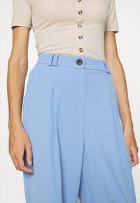Topshop - SUIT TROUSERS - Pantalones - blue - 5