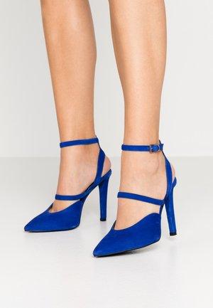 High heels - blue