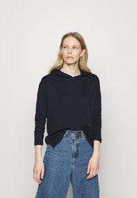 edc by Esprit - HOODY - Long sleeved top - dark blue - 0