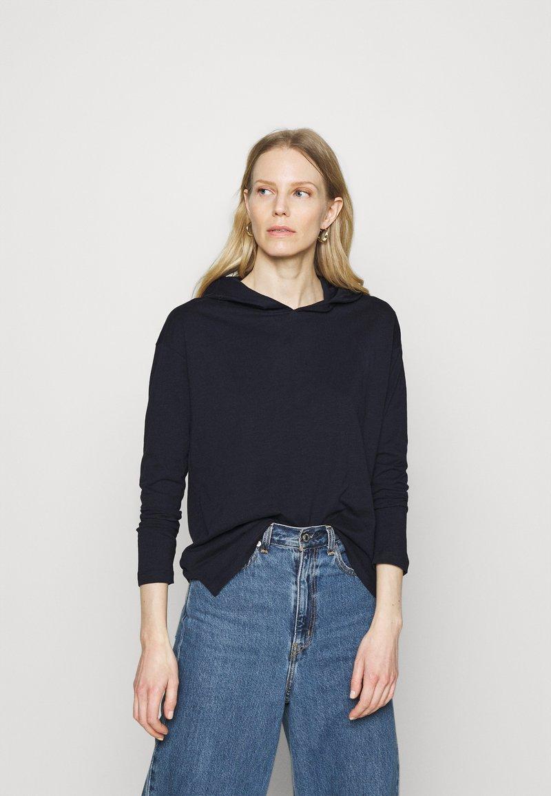 edc by Esprit - HOODY - Long sleeved top - dark blue