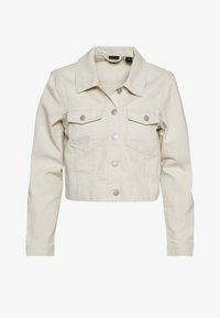 Vero Moda - VMMIKKY CROPPED JACKET - Denim jacket - birch - 0