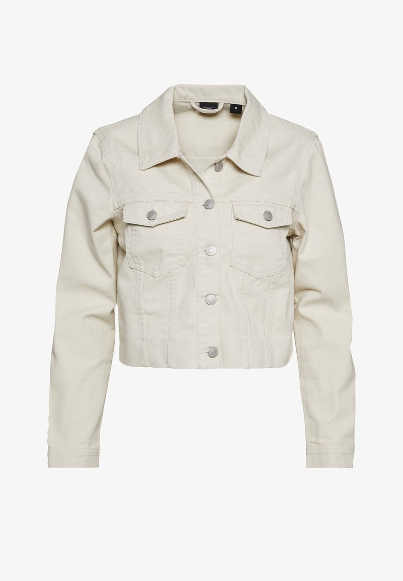 Vero Moda - VMMIKKY CROPPED JACKET - Denim jacket - birch