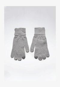 Reebok - ACTIVE FOUNDATION KNIT GLOVES - Rękawiczki pięciopalcowe - grey - 1