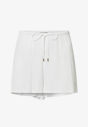 COTTON SHORTS - Pyjama bottoms - white