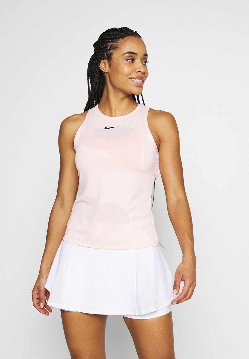 Nike Performance - TANK - Top - washed coral