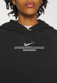 Nike Sportswear - HOODIE - Sudadera - black/white - 5