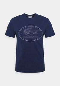 T-shirt med print - scille