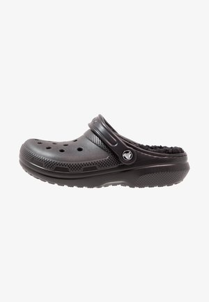 CLASSIC LINED ROOMY FIT - Clogs - black