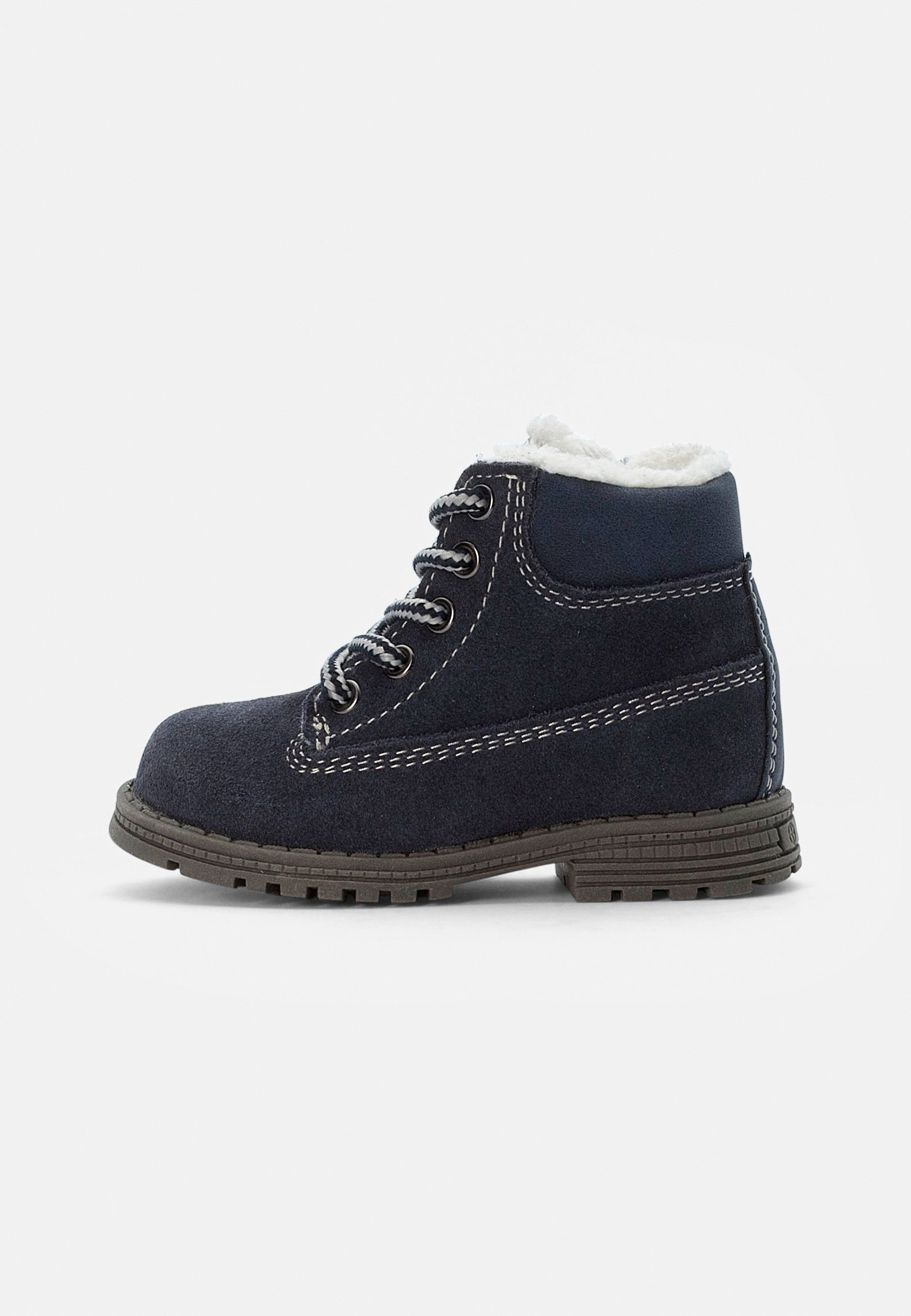 Kids LEATHER BOOTIES - Lace-up ankle boots