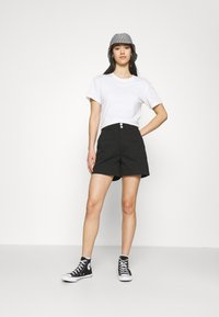 Tommy Jeans - HARPER HIGH RISE - Shorts - black - 1