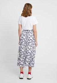 Selected Femme - SLFBREE ANKLE SKIRT - Maxi skirt - snow white - 2