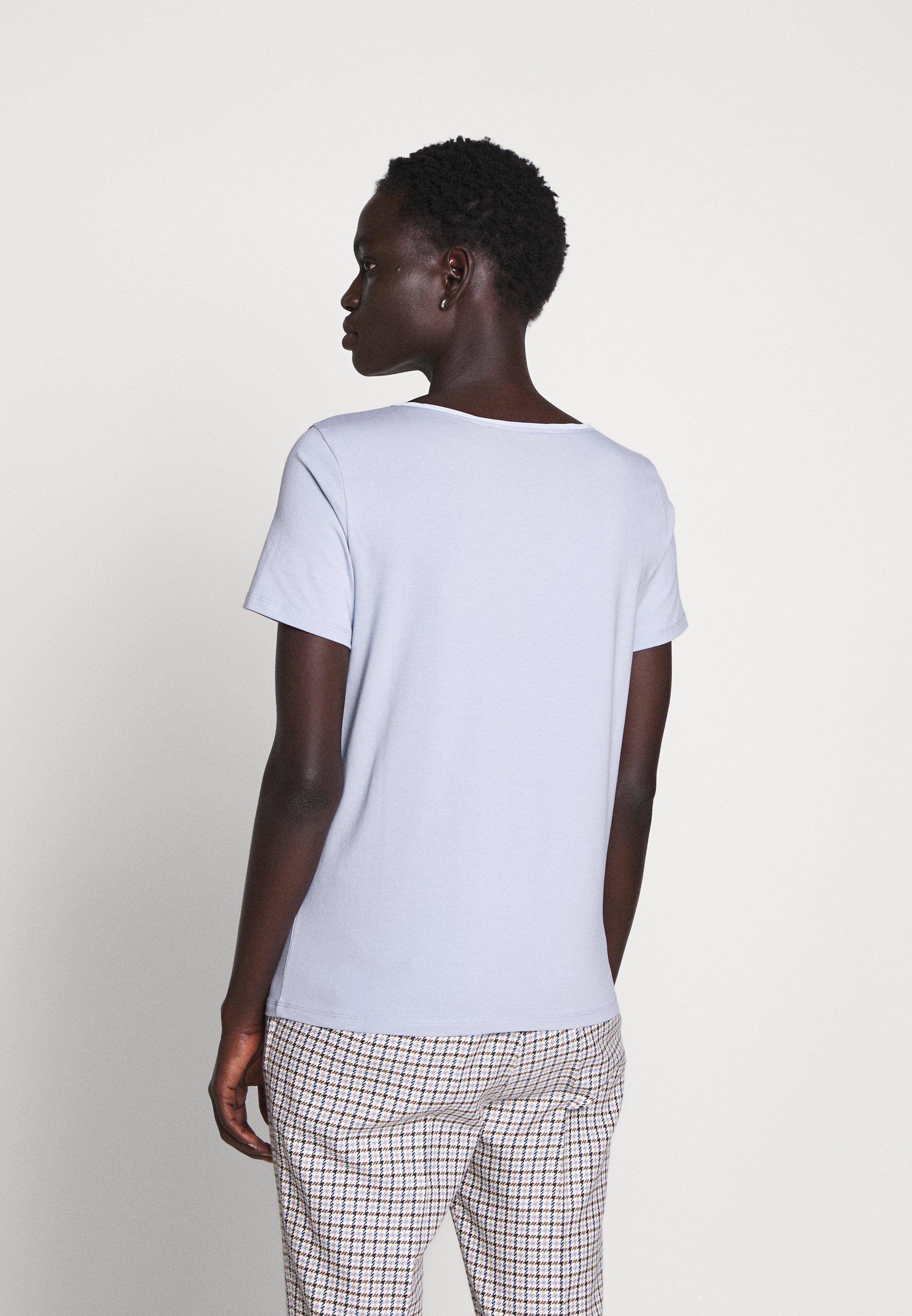 Weekend Maxmara T-shirt Basique - Light Blue