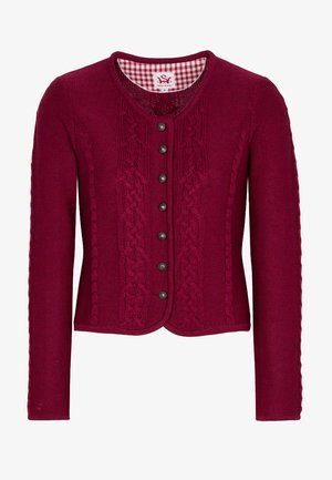 BONN - Cardigan - dark red