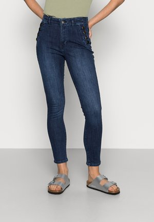 BUTTONS - Jeans Skinny Fit - dark blue
