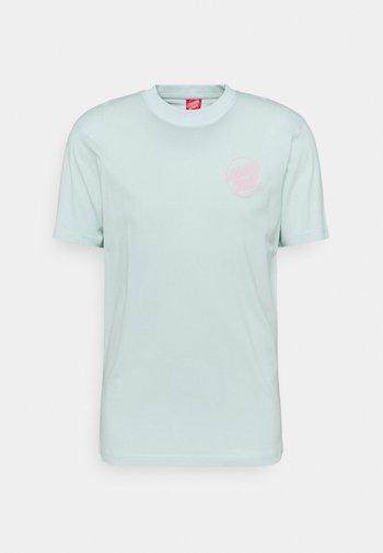 EXCLUSIVE UNISEX - Print T-shirt - pastel blue