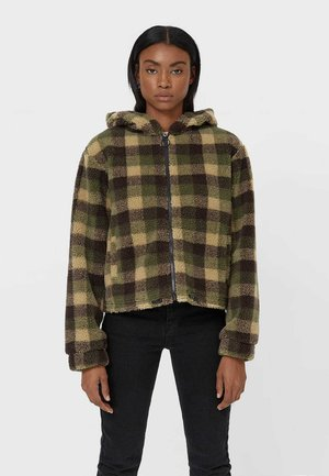 Fleece jacket - khaki