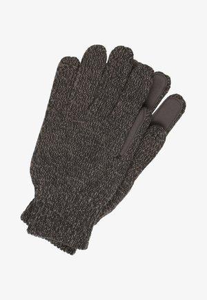 Gloves - black twist