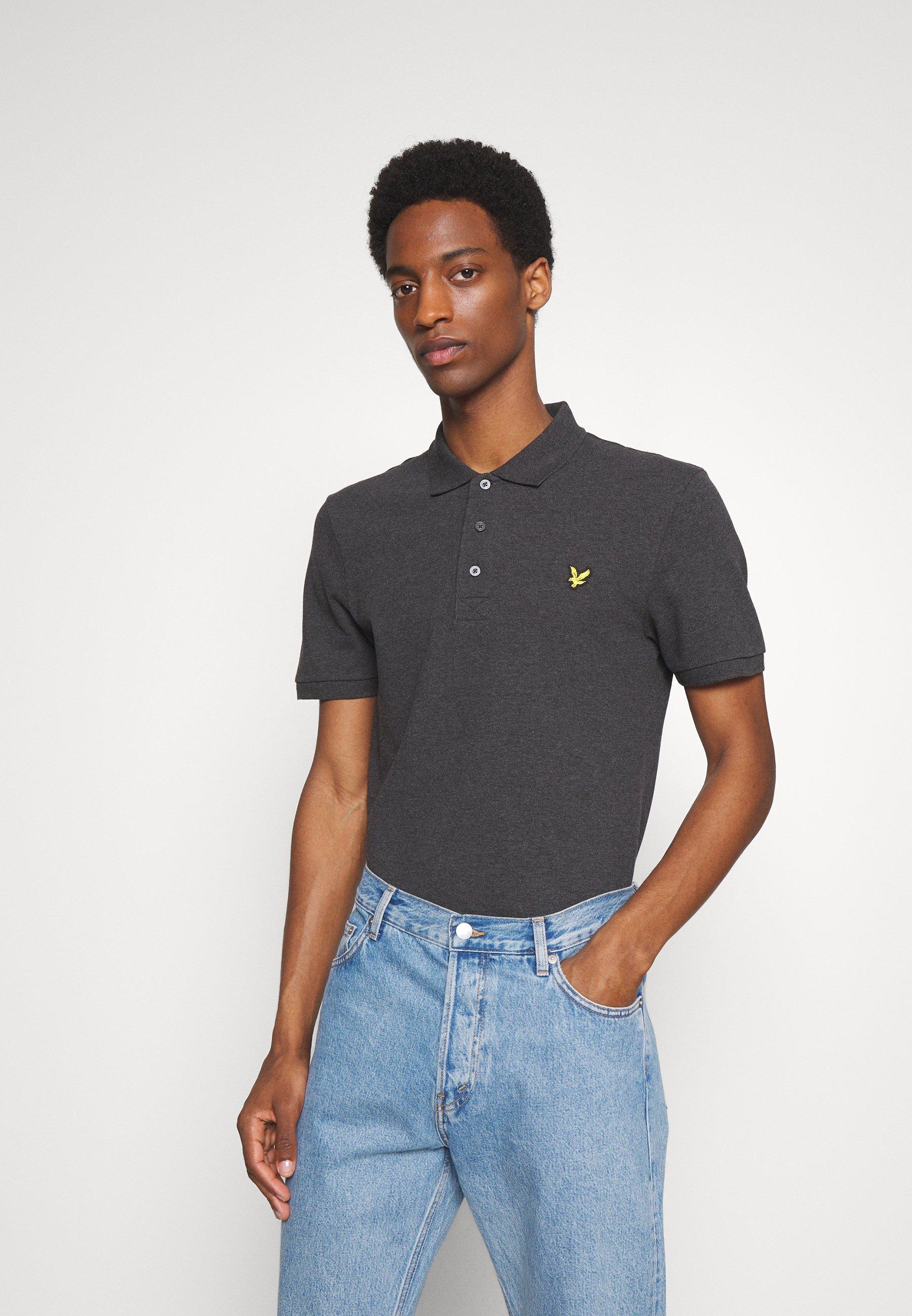 Men PLAIN  - Polo shirt